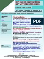 Formation Continue Chromatographie Sur Couche Mince