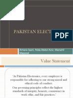 Pakistan Electronics HR pracices