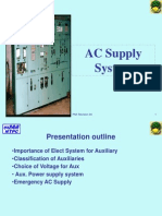 AC Supply System for Thermal Power Plant