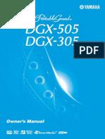 Manual Yamaha DGX-505_en