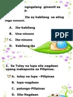 Mga Uri Ng Pangngalang Pambalana