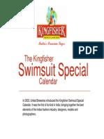 Kingfisher Calendar