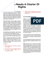 Bill of Rights Article Worksheet