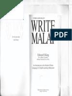 Write Malay