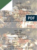 1815 - 1848 Europa