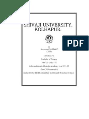 B sc II Sem IV Syllabus | Plant Pathology | Ecosystem