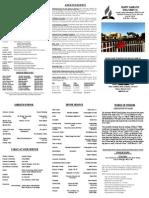 Church Bulletin 072013