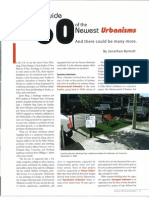 60 Newest Urbanisms