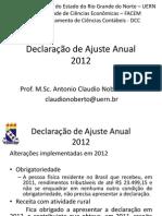 Declaração de Ajuste Anual