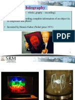 Lecture 6 Application Holography
