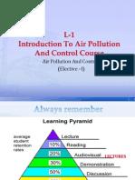 L-1 AIR POLLUTION