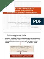 IV. 2. CONDUITA PSIHOSOCIALA - Relatiile Interpersonale Si Rolul Lor in Formarea Personalitatii