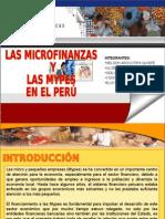 Microfinanzas y las mypes peru