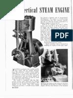 Motor a Vapor (Vapeur - Vertical Steam Engine)