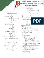 FSC math exam Part1