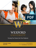 Wexford University - Turning Your Passion Into Your Profession