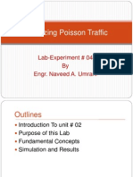 AnalyzinPTTg Poisson Traffic