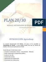 Plan 20 30 Metodología de Estudio para Docentes