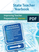 2012 State Teacher Policy Yearbook Kansas NCTQ Report