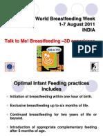 World Breastfeeding Week 2011