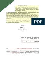 1 Termo de Contrato - Compras