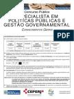 EPPGG - Conhecimentos Gerais
