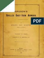 Gruson's chilled cast-iron armour -  Schütz (1887)