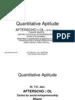 Quantitative Aptitude