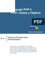 Php5 Poo Clases y Objetos