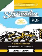 Streamline Bus Schedules
