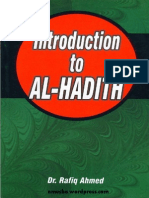 IntroductionToAl-hadithByDr.RafiqAhmad