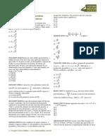 Exercicios Progressao Geometrica Matematica Gabarito