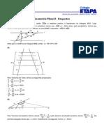Geometria Plana Exercicios Etapa Gabaritos