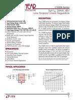 3008fc Low Dropout Linear Regulators