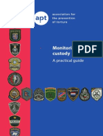 Monitoring Police Custody, A Practical Guide