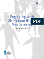 UN Human Rights Mechanisms