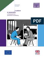 Institutional culture in detention