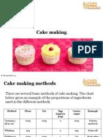 Cake Making Presentation