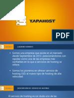 Brochure YapaHost - Hosting SSD