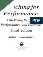 Джон Уитмор – Коучинг высокой эффективности