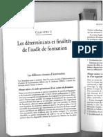 Finalités des audits de formation, T. Ardouin