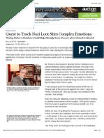 Quest to Track Nazi Loot Stirs Complex Emotions - WSJ.com