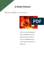 Combustion Tutorials 3dsmax Elements