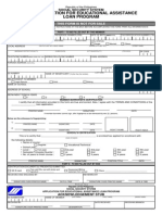 Educ Loan App Form 042013
