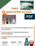 disolución acuosa