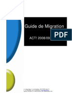Guide de Migration ACT! Version 6 Vers A