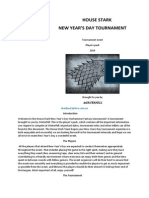 House Stark New Year's Tourney