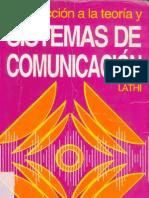Limusa Noriega - B.P.Lathi - Introducción a la Teoría de Sistemas de Comunicación [416p] (2001)