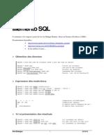 Memento SQL