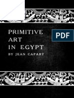 Jean Capart Primitive Art in Egypt